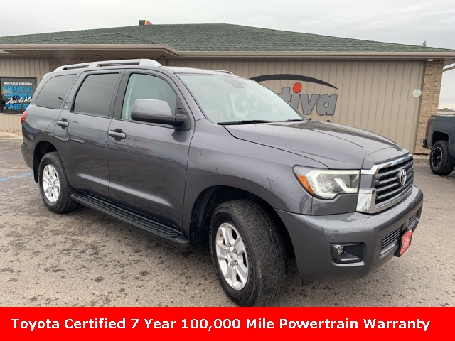 Certified Pre-Owned 2018 Toyota Sequoia SR5