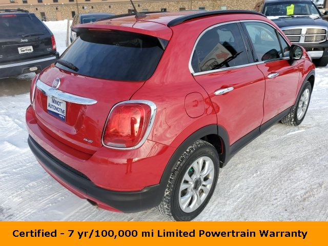 Certified Pre-Owned 2016 FIAT 500X Lounge